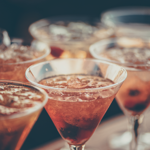Colour psychology in cocktail bars