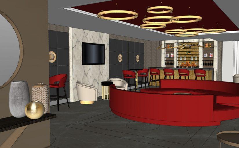 Home bar design Kent